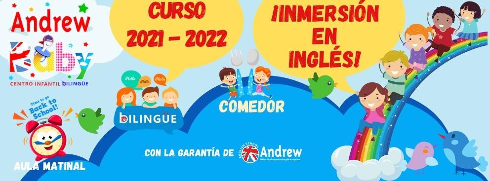 Imagen de Matriculación 2021-2022 Andrew Baby