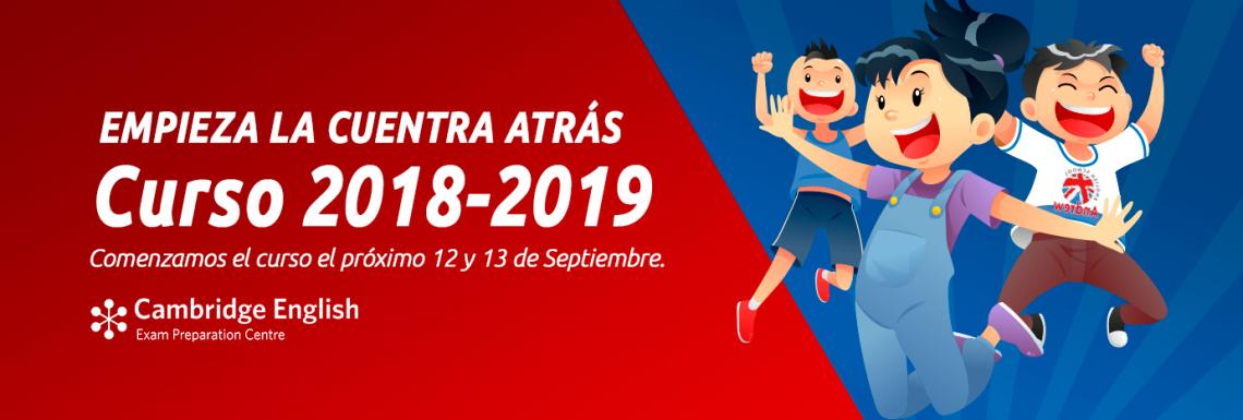 Imagen de Comienzo curso 2018 - 2019