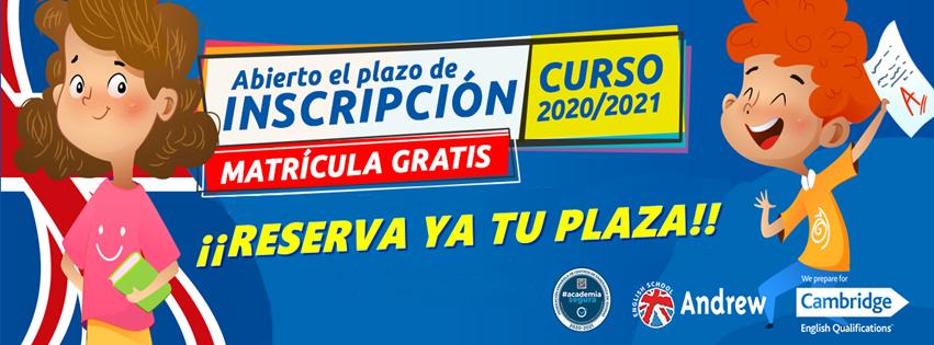Imagen de ABIERTO PLAZO MATRÍCULA 2020 - 2021