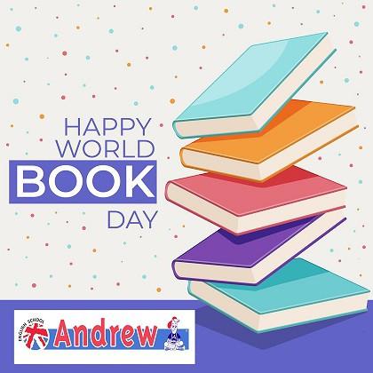 Imagen de Día Internacional del Libro Abril 2020 | Andrew English School