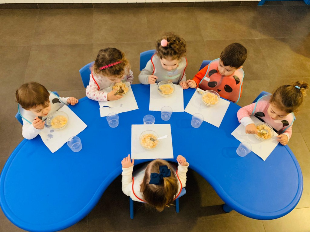 Imagen de ¿Te has preguntado si es mejor que coman en la guardería? | Andrew English School