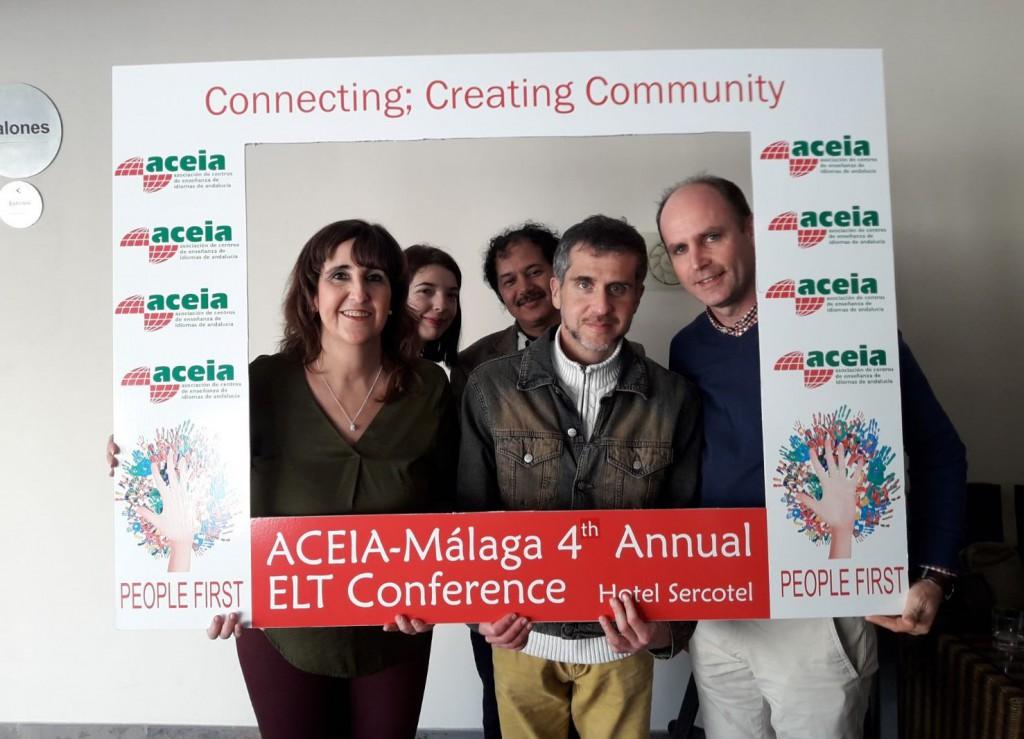 Imagen de ANDREW UN AÑO MÁS EN LAS CONFERENCIAS DE ACEIA EN MÁLAGA | Andrew English School
