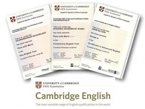 Imagen  Títulos de ALUMNOS ADULTOS de B1, B2 y C1 Cambridge disponibles. - Andrew English School