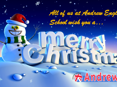 Imagen  MERRY CHRISTMAS 2017 - Andrew English School