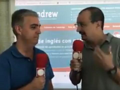 Imagen  ENTREVISTA EN ALGECIRAS AL MINUTO.ES - Andrew English School