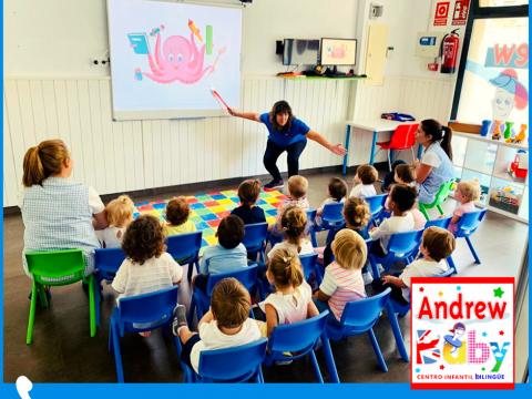 Imagen  Ventajas de aprender inglés durante la infancia - Andrew English School