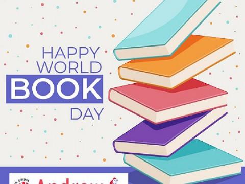 Imagen  Día Internacional del Libro Abril 2020 - Andrew English School