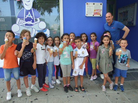 Imagen: FIN DE CURSO. ICE CREAM PARTY | Andrew English School