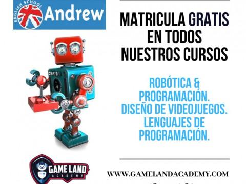 Imagen  CURSOS DE ROBÓTICA. MATRÍCULA GRATIS - Andrew English School