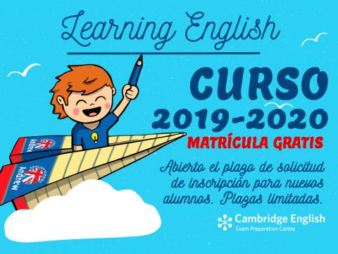 Imagen  ABIERTO PLAZO MATRÍCULA 2019 - 2020 - Andrew English School